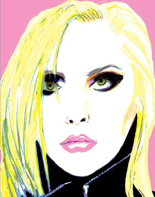 Debbie Harry illustration by Lindsey Baker