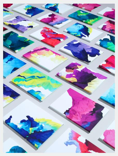 1000 digital paintings by Field