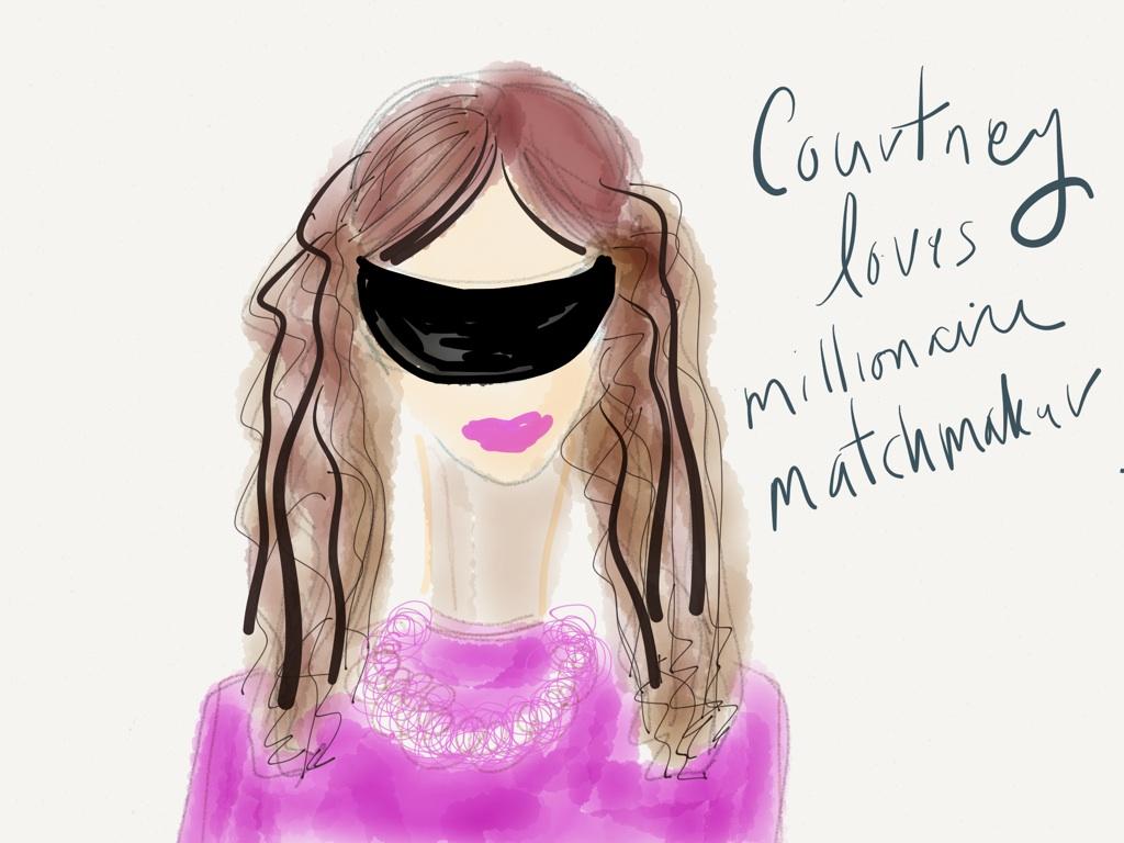 Courtney on Millionaire Matchmaker