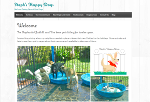 Stephs happy dogs site