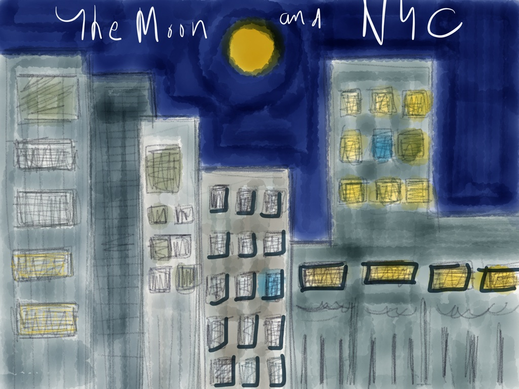 moon and nyc