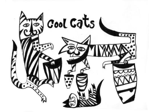 cool cats - jim flora