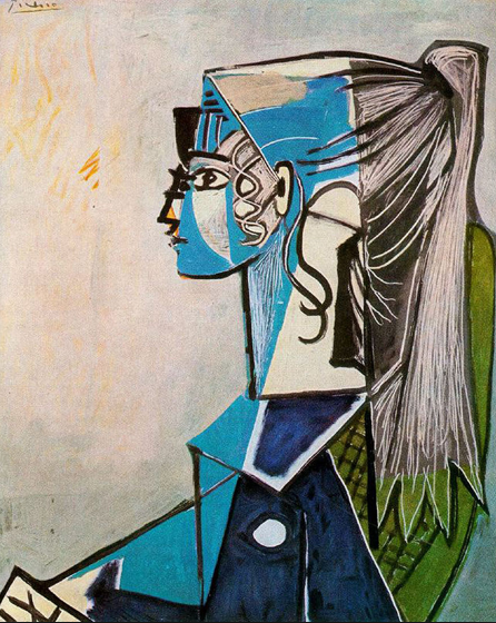 Sylvette drawing by Picasso