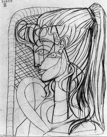 Sylvette by Picasso