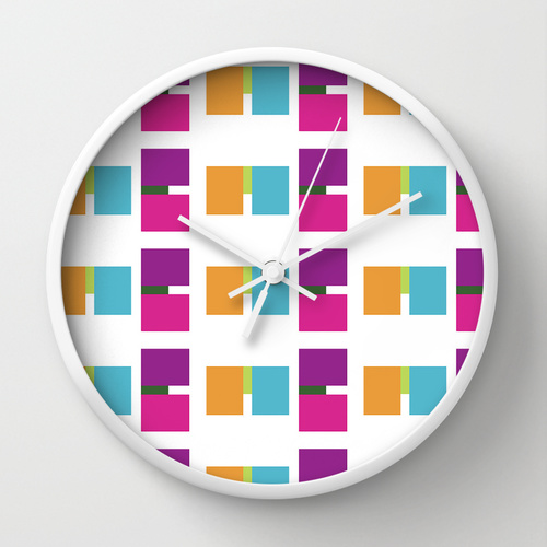 all about ME clock by lindsey baker