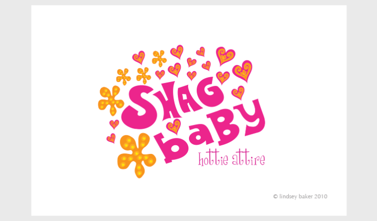 logo for Shag Baby clothing